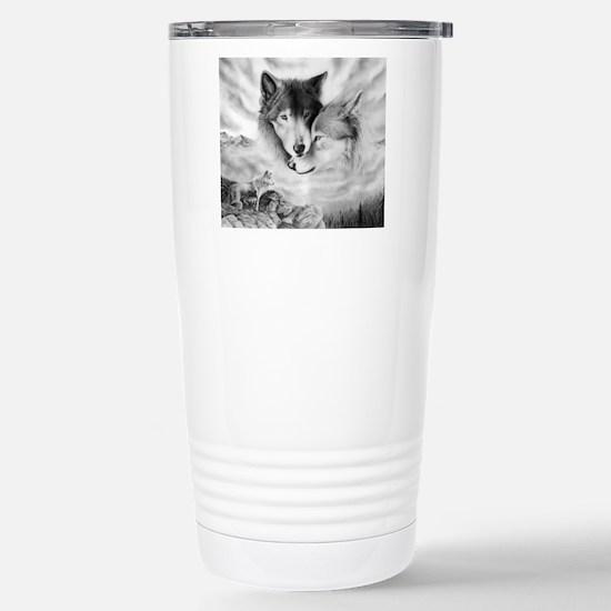 wolfmates Stainless Steel Travel Mug
