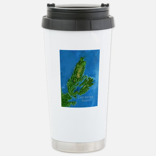 CB biggest w water blur Stainless Steel Travel Mug