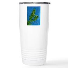 CB biggest w water blur Travel Mug
