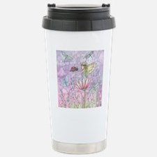 a friendly encounter fo Stainless Steel Travel Mug