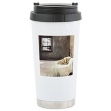 yellow lab wallet andre Travel Coffee Mug