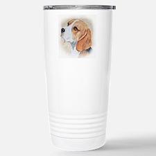 Beagle Stainless Steel Travel Mug