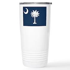 South_Carolina_state_fl Travel Mug