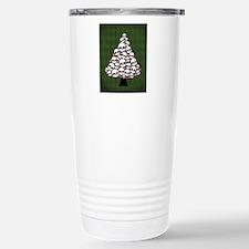 Holiday Skull Tree Stainless Steel Travel Mug