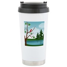 Country Life Scene Travel Mug