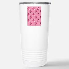 Ladybug Flip Flops Travel Mug