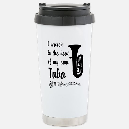 MarchTuba Stainless Steel Travel Mug