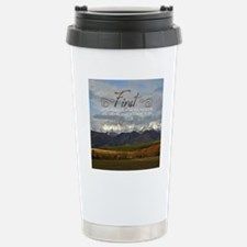 Would Be Quote on Tile  Stainless Steel Travel Mug