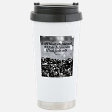 Listen Quote on Tile Co Stainless Steel Travel Mug