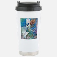 Pillow-CLIVE-Mermaid Stainless Steel Travel Mug