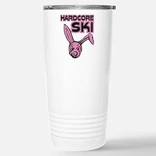 harcore ski bunny Stainless Steel Travel Mug