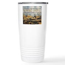 Shortcoming Quote on Ji Travel Mug