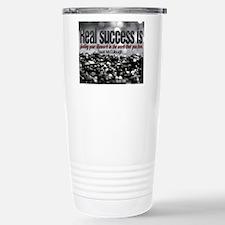 Real Success Quote o Ji Travel Mug