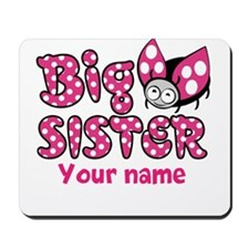 Custom Big Sister Ladybug Mousepad