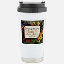See Life Quote on Jigsa Thermos Mug