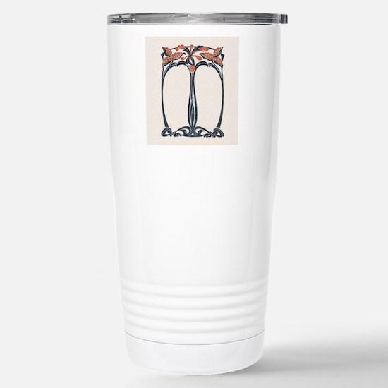 jugend 1900 design 2 Stainless Steel Travel Mug