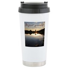Respect Yourself Quote Travel Mug