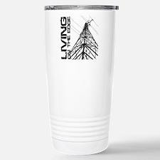 transmission tower edge Travel Mug