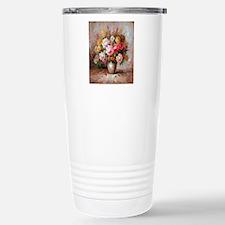 flower013 Stainless Steel Travel Mug