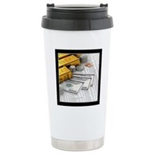 gold_bars_06 Travel Mug