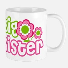 Big Sister Pink Green Mug