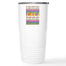 Bunny Flower Travel Mug