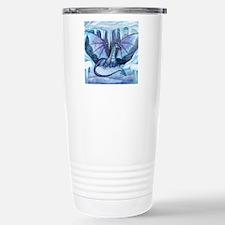 ice dragon square cp Travel Mug