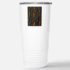 Rainbow LightningBolt o Travel Mug