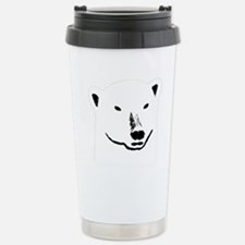 Andy plain white face t Travel Mug
