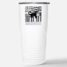 keyboard-cat-ornament Stainless Steel Travel Mug
