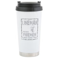 lineman because 1 Travel Mug