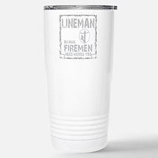 lineman because 1 Travel Mug
