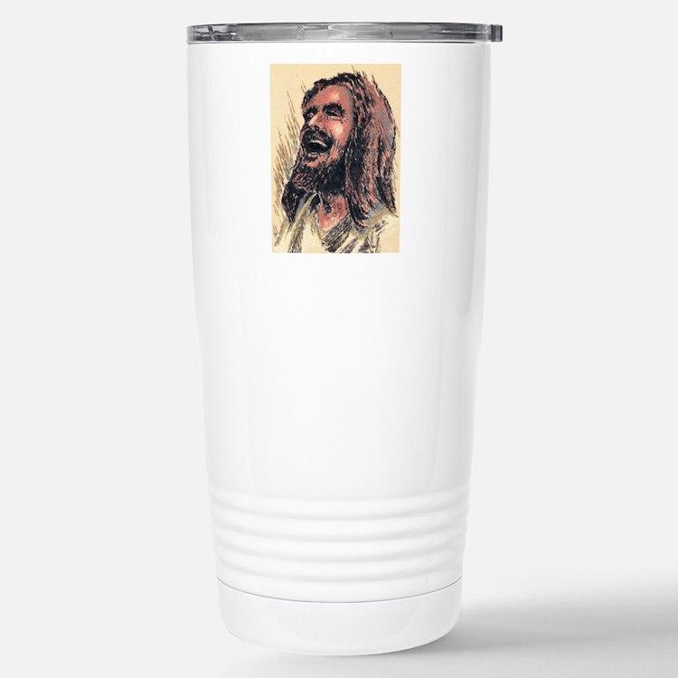 Laughing_Jesus Travel Mug
