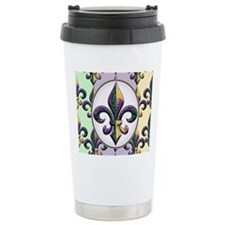 FleurMGbeadsPcOfMg Travel Mug