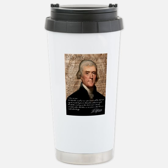 Jefferson 2400X3000.001 Stainless Steel Travel Mug