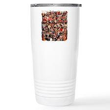 collage with lea transp Travel Coffee Mug