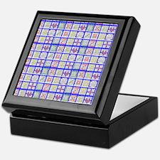 Bingo Game Patterns Keepsake Box
