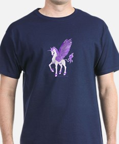 Violet Winged Unicorn T-Shirt