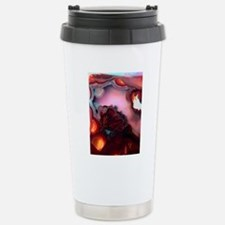 Fire-Agate-Quartz-iPad  Stainless Steel Travel Mug