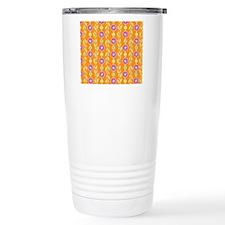 purple_boquet_dots_mous Travel Coffee Mug