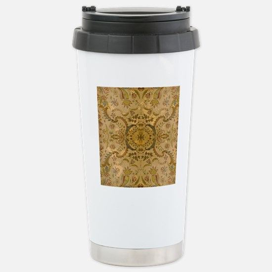 damask vintage Stainless Steel Travel Mug