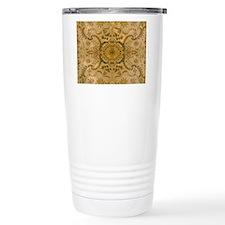 damask vintage Thermos Mug