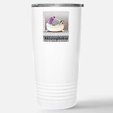 Ablutophobia Stainless Steel Travel Mug