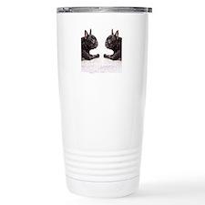 french bulldog flip flo Travel Mug