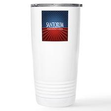 button_santorum_04 Travel Mug