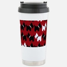 Scottie Dogs Red Stainless Steel Travel Mug