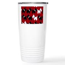 Scottie Dogs Red Travel Mug