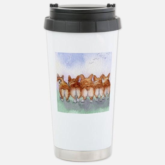 Five walk away together Stainless Steel Travel Mug