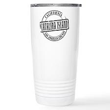 Catalina Island Title W Travel Mug
