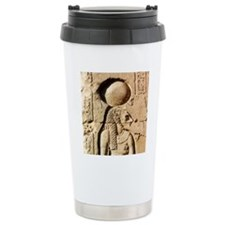 Sekhmet at Esna-sqr Travel Mug